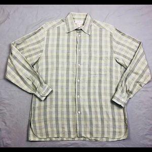 Ermenegildo Zegna Men Dress Shirt Medium